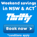 Book Online for Thrifty's lowest Rates today. - Earn 1 point per $1