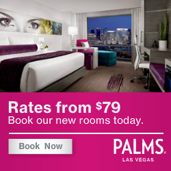Book your room at the Palms in Las Vegas