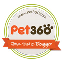 Pet360 Blogger Badge