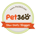 Pet360 Blogger Badge