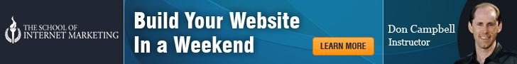 Build Your Website In a Weekend