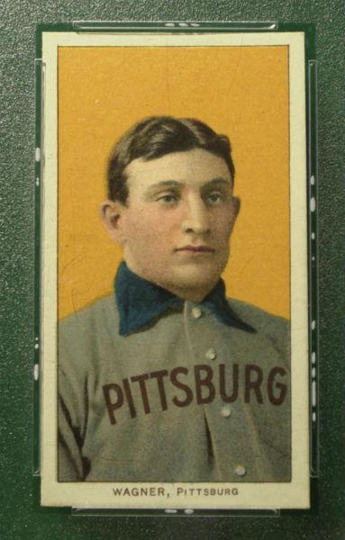 Honus Wagner Card