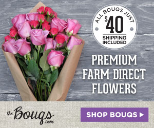 The Bouqs - Premium Farm Direct Flowers