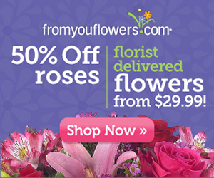 FromYouFlowers promo