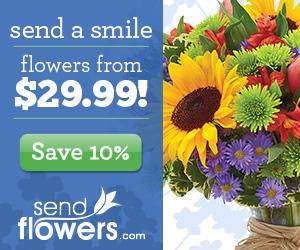 SendFlowers promo