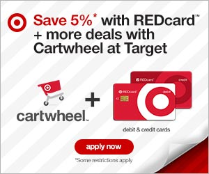 Do you shop Target?  Get 5% off EVERYDAY!