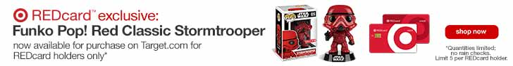 Funko Pop! Red Classic Stormtrooper