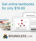 Boundless textbook alternatives for only $19.99