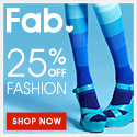 25% Off Fashion at Fab.com