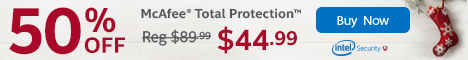 mcafee total protection 2015 coupon