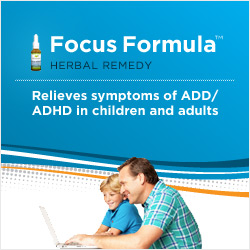 Natural remedy for adhd