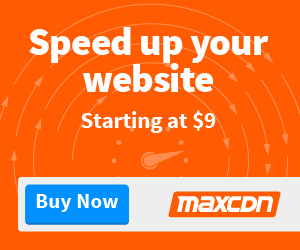 Speed up your website today with MAX CDN