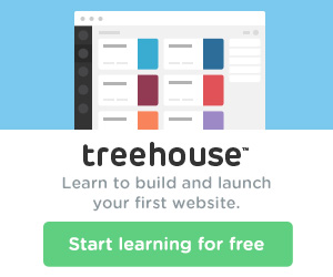 Try Treehouse FREE for 14 days!