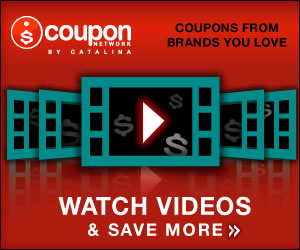Watch videos and save more by updating coupons from brands you love.