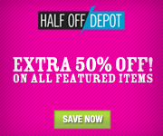 50% Off Featured Items