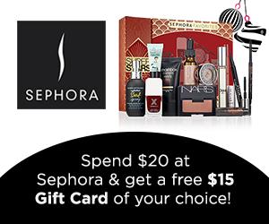Swagbucks Sephora Promotion - $15 in Free Points