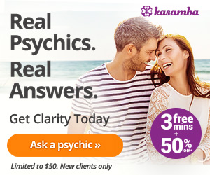 3 Free Minutes + 50% Off  Psychic Tarot Readings